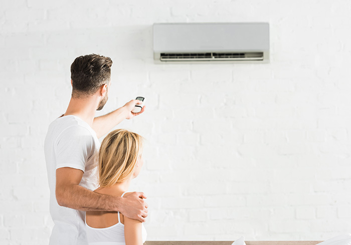 back-view-of-couple-with-remote-control-suffering-from-heat-under-air-conditioner-at-home